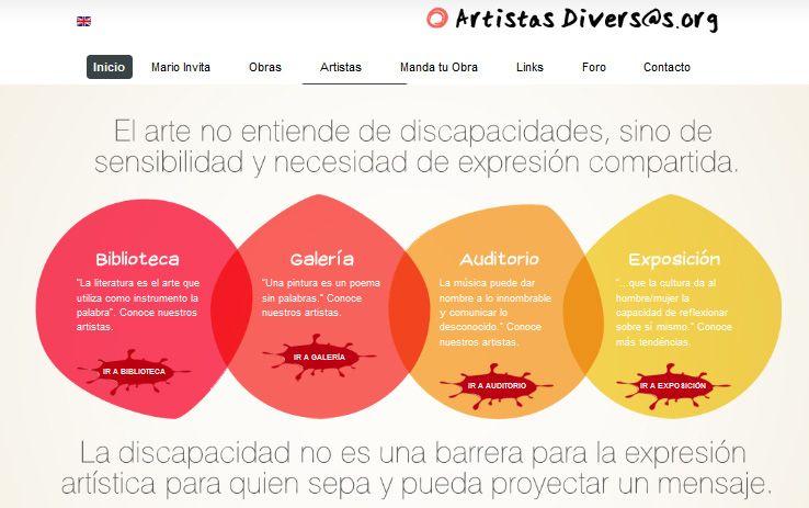 Lanzamiento de la Plataforma Artistas Diversos